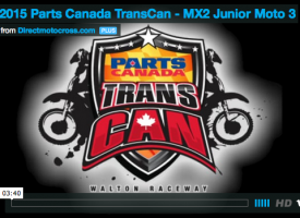 Parts Canada TransCan – MX2 Junior Moto 3