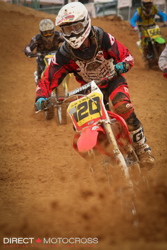 #120 PO Lavigne was still hitting as many big races as he and his dad could back in 2010.