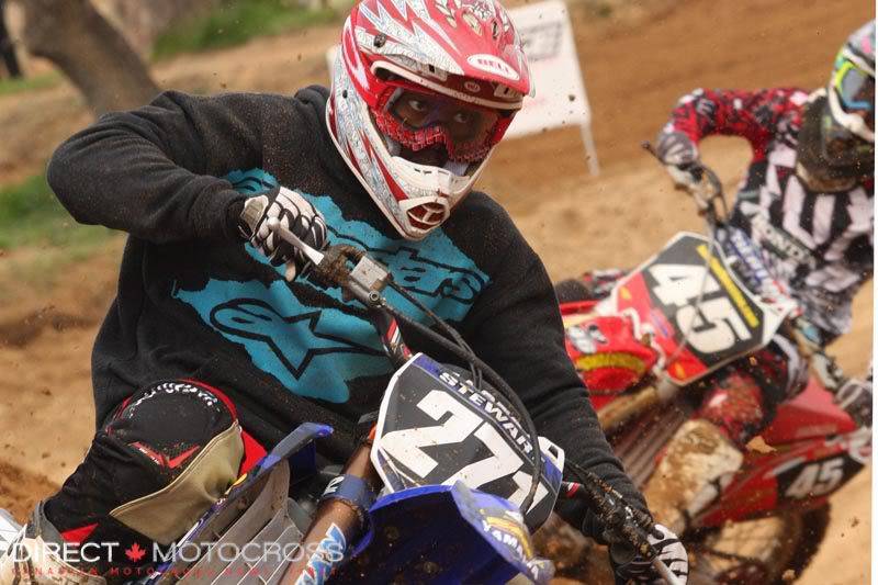 #271 Malcolm Stewart took both of the top 450 titles in 2010.