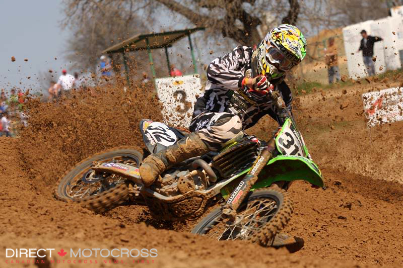 #312 was Jason Anderson. He won the 250 Open and Open Skill classes.