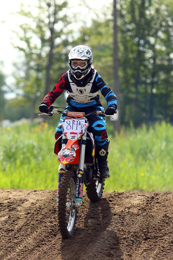 """My future kids will be motocross racers and they will rock the tracks!"" - Pascal Laroche photo"