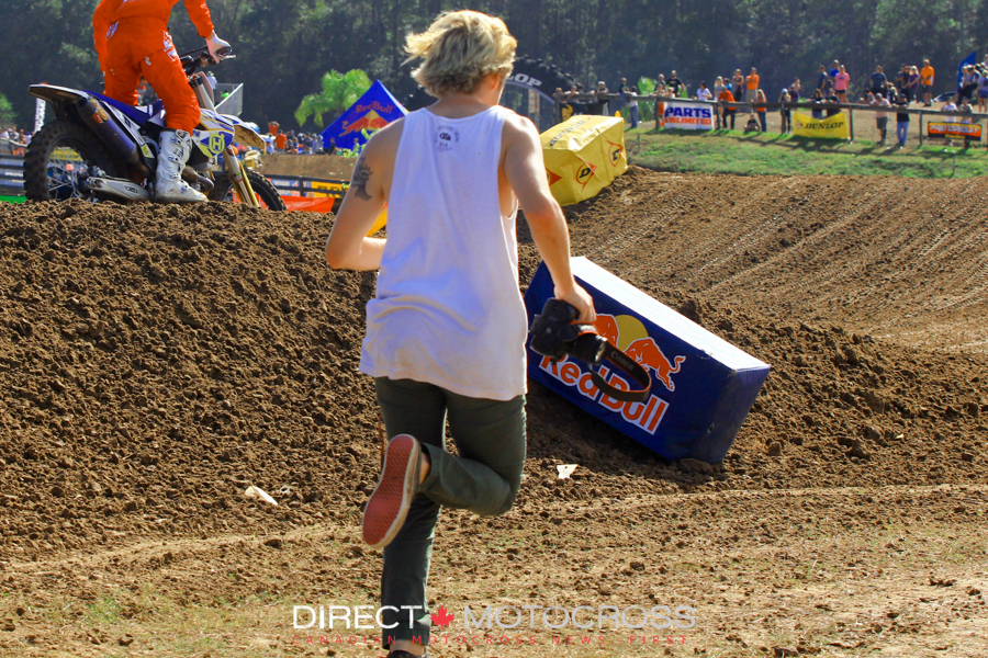 Connor from Florida MX put in more miles than anyone on the track! This is how he got EVerywhere.