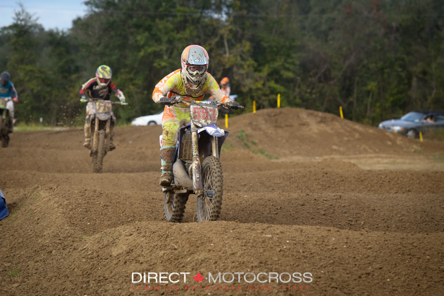 Nick finished 14th overall in 450C.
