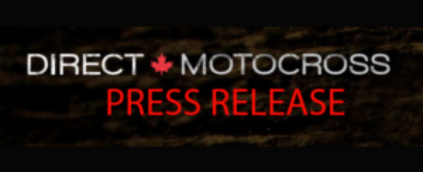 Quebec Press Release | COVID-19 Pandemic – ATV and Motocross Practice Allowed