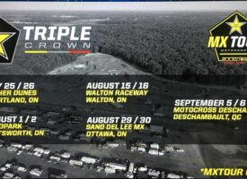 Updated 2020 Rockstar Triple Crown MX Tour Schedule