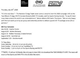 How to Watch Rockstar Triple Crown MX Nationals LIVE