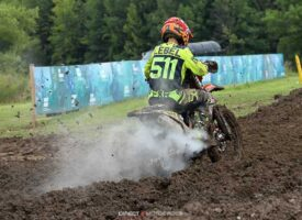 #511 Jordan Lebel Injured at Snocross