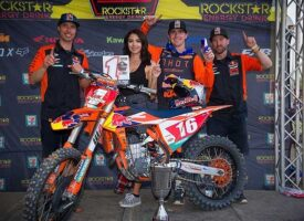 KTM RED BULL THOR FACTORY RACING'S COLE THOMPSON CLINCHES SX TOUR CHAMPIONSHIP WITH TOP-NOTCH PERFORMANCES AT GOPHER DUNES