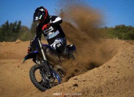 Short Instabanger Video of Greg Poisson on the 2021 Yamaha YZ250F at Motopark