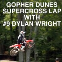 Video | Lap of Gopher Dunes Supercross Track with Dylan Wright