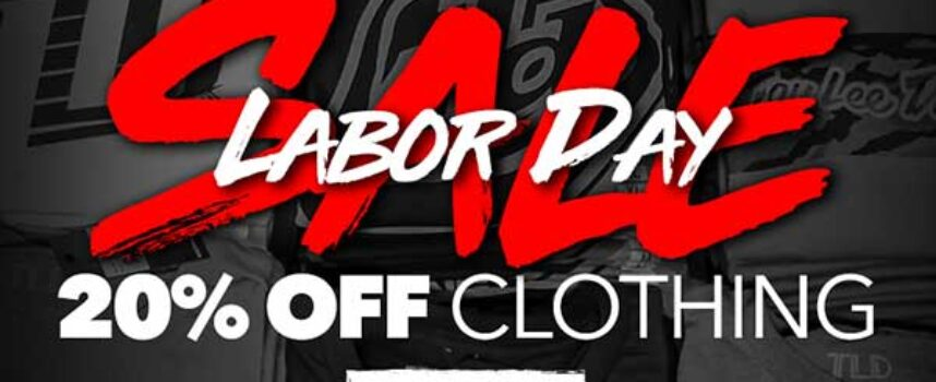 TLD Labour Day Sale | 20% Off & FREE Ground Shipping on All Orders