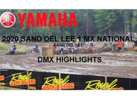 Video | Sand Del Lee 1 MX National | DMX Highlights | Yamaha Motor Canada