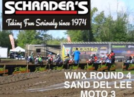 Video | Sand Del Lee WMX Round 4 Moto 3 | Schrader's