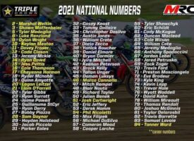 2021 Rockstar Triple Crown National Numbers