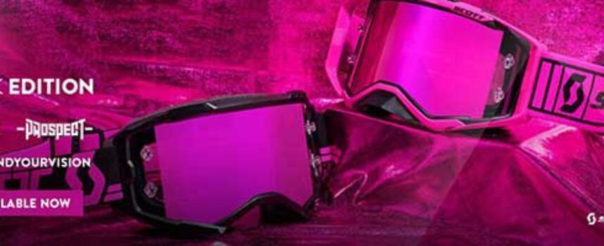 Upgrade to Legend Status with the New SCOTT Pink Edition Goggles!