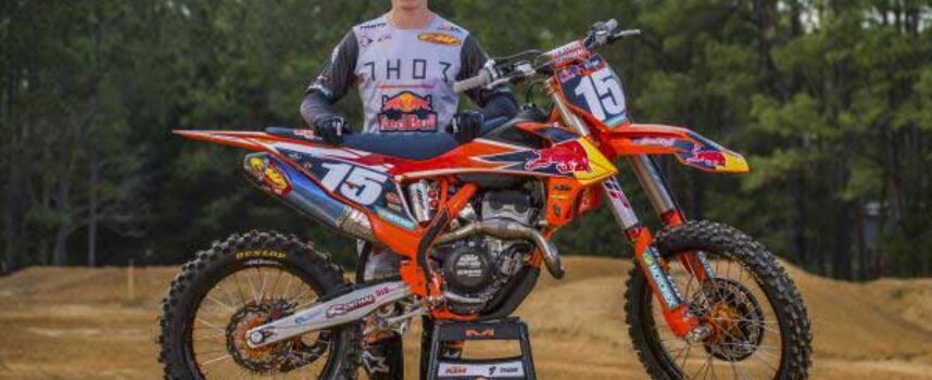 KTM CANADA RED BULL THOR RACING'S JESS PETTIS SET TO RACE AMA 250SX EAST CHAMPIONSHIP IN 2021