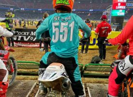 Podcast   Guillaume St Cyr Talks about Supercross Round 1