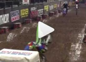 Canadian #11 Connor Stevenson Down Hard at Kicker AX Round 4