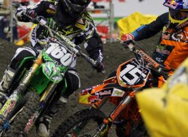 Flashback Podcast | Cole Thompson and Jeremy Medaglia | Montreal SX 2012 Battle