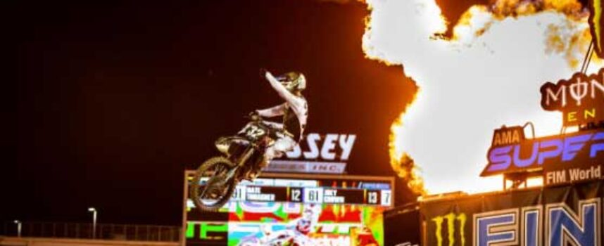 Cooper Webb Dominates Orlando and Tightens 450SX Title Chase | Justin Cooper Repeats 250SX West Opening Round Win