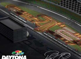 2021 Daytona Supercross Animated Track Map