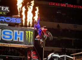 Ken Roczen Sweeps Indianapolis 450SX Class Rounds, Stretches Title Points LeadChristian Craig Takes Second 250SX Class Win of Season