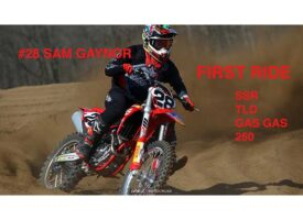 Video | First Ride | Sam Gaynor SSR TLD GasGas 250 at Gopher Dunes