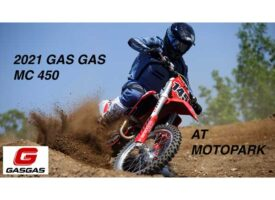 Video | We Ride the 2021 Gas Gas MC 450 at Motopark