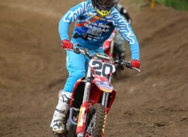#20 Logan Leitzel Stepping away from Triple Crown Series to Heal Injuries