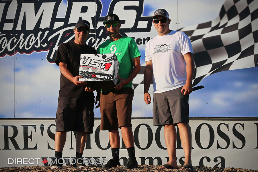 our the People's Choice award went to Doug Wright and he received a new Just 1 helmet. - McClintock photo