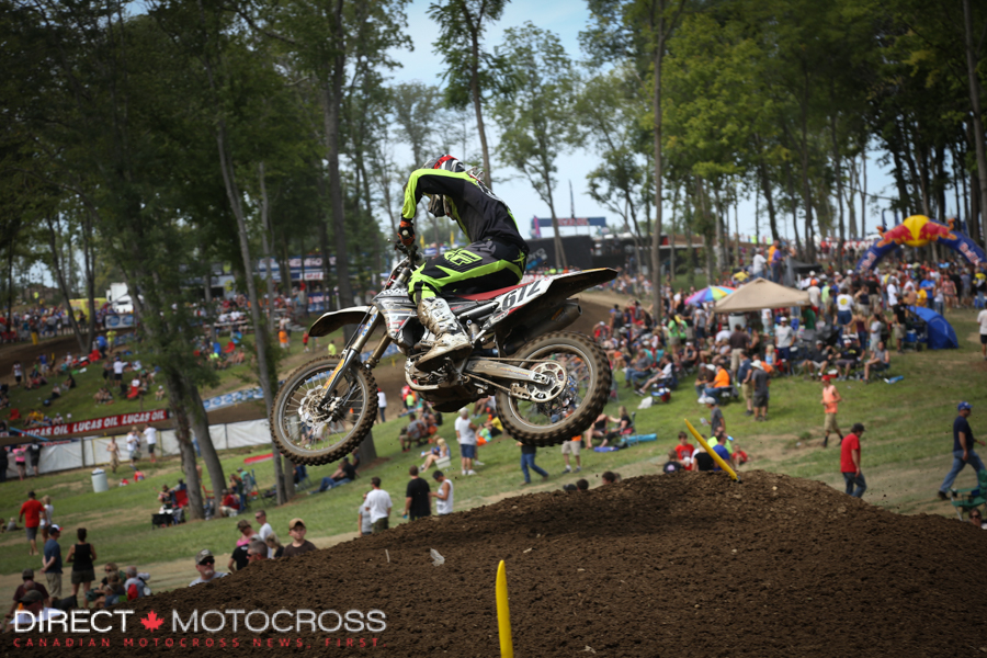 Our old friend #672 Seth Rarick was in Indiana on his Yamaha 450.