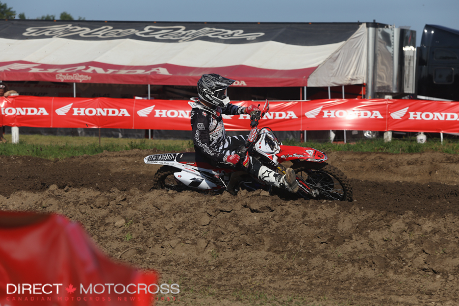 #1 Honda Canada TLD GDR's Colton Facciotti came on strong to finish off the season.