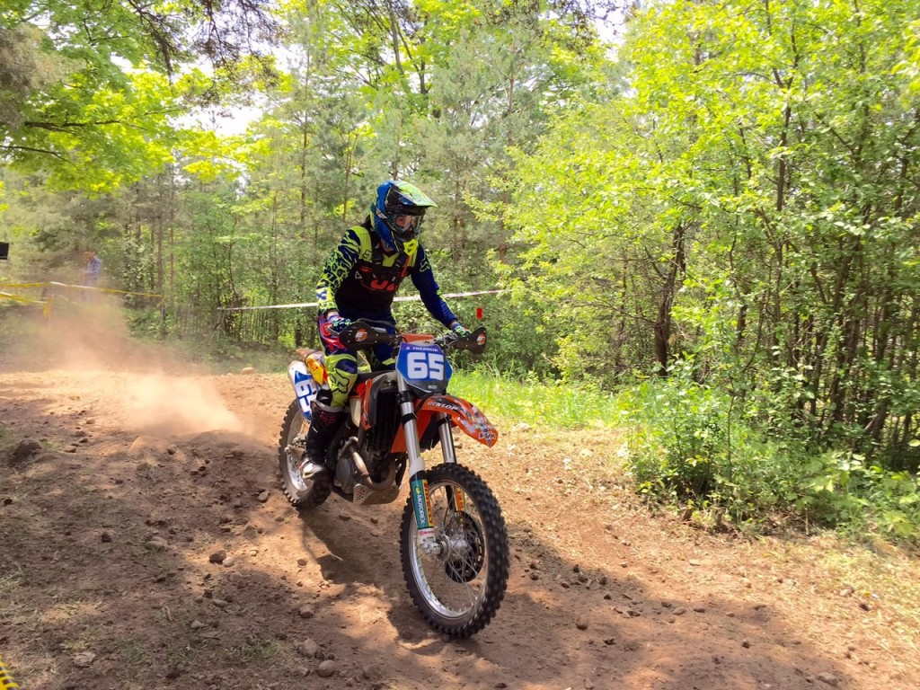 """Is off-road racing harder for females to compete in? """"Definitely not."""" - Franklin photo"""