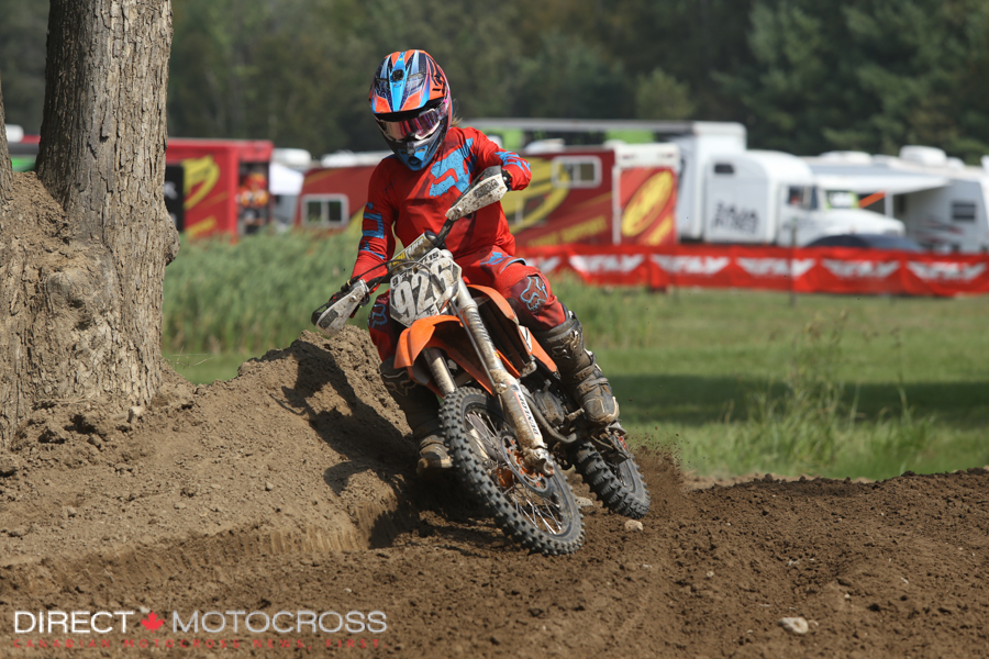 Jesse Flock was second in Supermini 1.