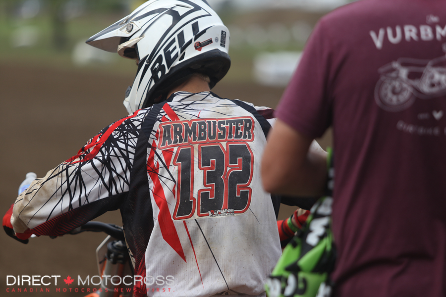 Probably not the greatest name for a motocross racer.
