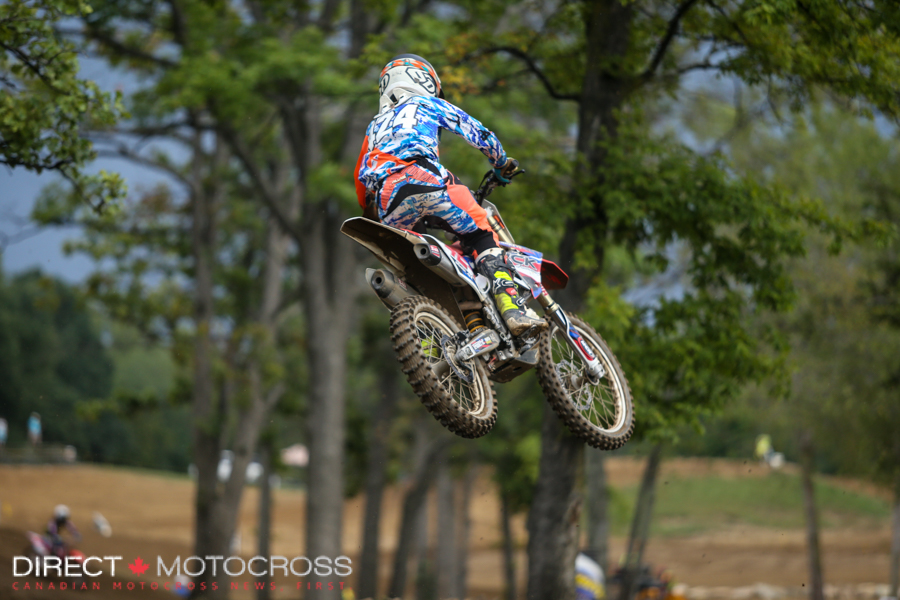 #424 Austin Watling is shaping into a solid rider.