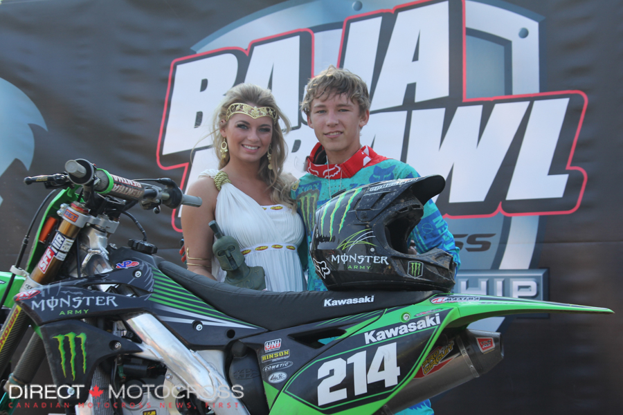 However, it would be difficult to bet against #214 Austin Forkner for that honour.