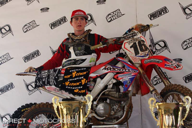We had a special rider in the making with #16 Cole Thompson back in 2010.