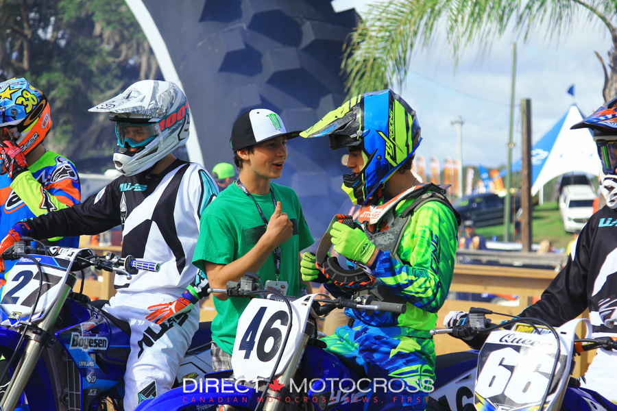 #46 Marco Cannella getting some advice of his own from his manfriend for the week, Joey Crown.