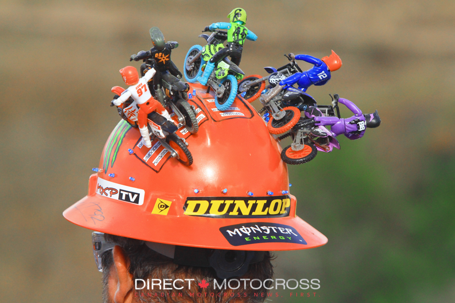 OK, that's it for the Canadian riders who were on the track in the final motos. I missed Estrella Cemovic. Sorry about that. See you at the races...