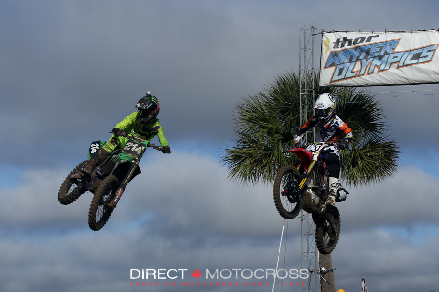 #214 Austin Forkner used his scrubbing skills to stay low and make the pass here.