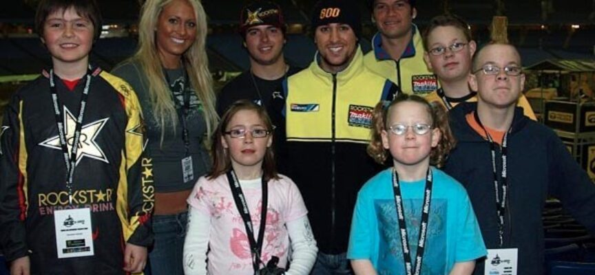 Motocrosser Making a Difference   Ryan Langille Gives…and Gives