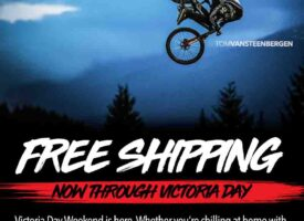 Free Shipping on Troy Lee Designs thru Victoria Day