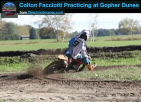 TBT | 2013 Colton Facciotti Getting Ready at Gopher Dunes on the #9 KTM