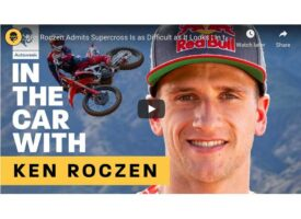 Video | Ken Roczen Admits Supercross Is as Difficult as It Looks | In the Car With | Autoweek