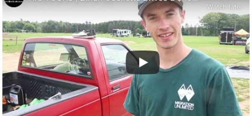 RIG TOURS   #192 Ethan Ouellette Shows US around his $400 Pick-Up