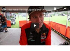 Video Interview | Jess Pettis Friday at Gopher Dunes | KTM Canada