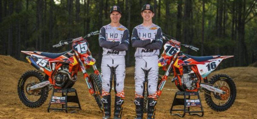KTM RED BULL THOR FACTORY RACE TEAM IS READY FOR THE START OF THE 2020 TRIPLE CROWN SERIES MX TOUR