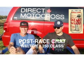 Post-Race Chat | Walton 1 – 250 Class