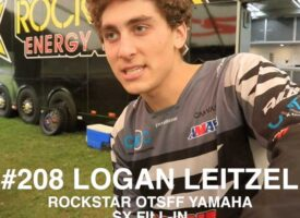 Video | #208 Logan Leitzel Fills In on Rockstar OTSFF Yamaha Team for SX